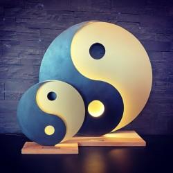Yin et Yang Lampe Leds