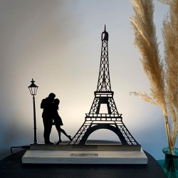"Lampe ""In love with Paris"""