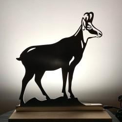 Chamois lumineux lampe Leds