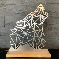 Lampe Loup origami