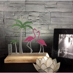 Lampe Flamant Rose Flamingo