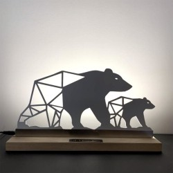 Lampe à poser Ours blancs