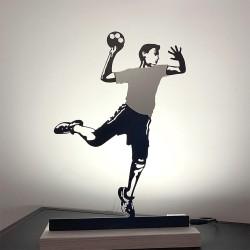 Handballeur lumineux
