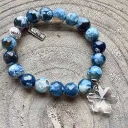 Bracelet Blue Snow
