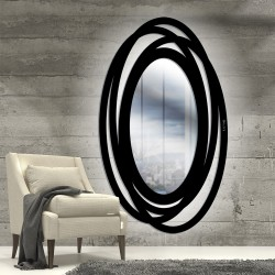Miroir Ellipse lumineux