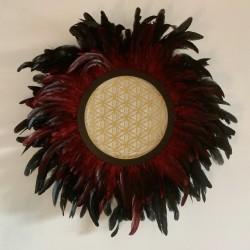 Juju Hat Fleur de Vie Noir...